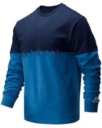 New Balance Athletics Pique Stripe - Blue