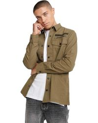 Superdry Utility Field Edition Long Sleeved Shirt - Green