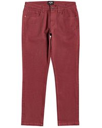 Billabong 73 Jeans - Red