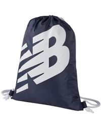 New Balance Cinch Drawstring Bag - Blue