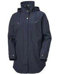 Helly Hansen Valentia Rain Coat - Blue