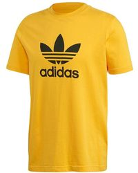 adidas Originals Trefoil - Yellow