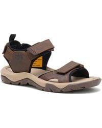 Caterpillar Waylon Mens Sandals - Brown