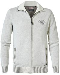 Petrol Industries 3000 C 216 Full Zip Sweater - Multicolor