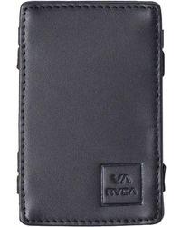 RVCA Magic Card Wallet - Black