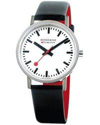 Mondaine Classic Watch - Black