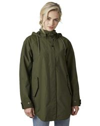Helly Hansen Valentia Rain Coat - Green