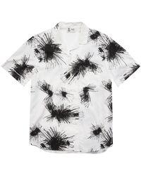 Franklin & Marshall Cotton Short Sleeve Shirt - Multicolor