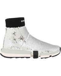 DIESEL Padola Sock - Metallic