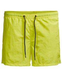 Jack & Jones Isunset Swim Shorts - Yellow