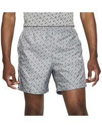 Nike Sportswear Repeat Woven Shorts - Gray