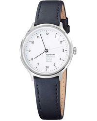 Mondaine Helvetica No1 33 Regular Watch - Black