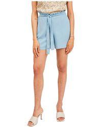 Vila Rasha High Waist Shorts - Blue
