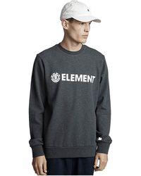 Element Blazin Ft Crew Sweatshirt - Gray