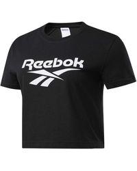 Reebok Vector Crop - Black