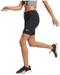 Reebok Identity Small Logoted Shorts - Black