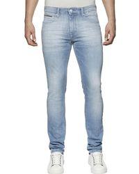 Tommy Hilfiger Tapered Slim Fit Denim Jeans - Blue