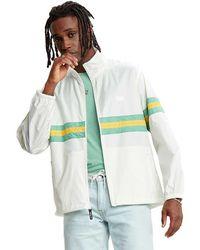 Levi's Color Blocked Jacket - White