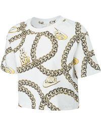 Nike Sportswear Glamour Dunk Crop - White