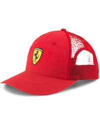 PUMA Ferrari Trucker - Red