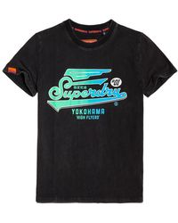 Superdry High Flyers Hyper Classics T-shirt - Black