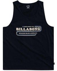 Billabong Wavy Sleeveless T-shirt - Blue