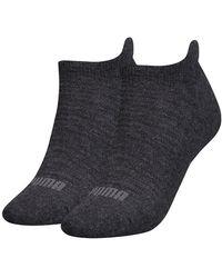 PUMA Sneaker Socks 2 Pairs - Gray
