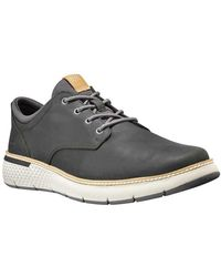 Timberland Cross Mark Plain Toe Oxford Eu 40 Peat Saddleback - Gray