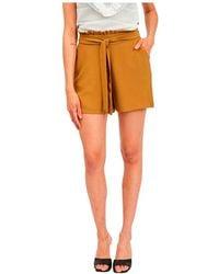Vila Rasha High Waist Shorts - Multicolor