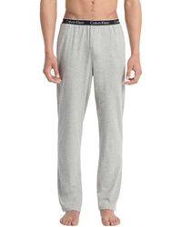Calvin Klein Pajama Pants - Ck Sleep - Gray