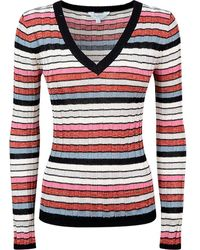 Pepe Jeans Kristen Long Sleeve Sweater - Red