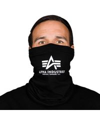 Alpha Industries Basic Logo Tube Mask - Black