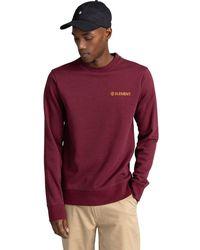 Element Blazin Chest Sweatshirt - Red