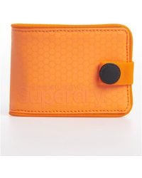 Superdry Tarp One Popper Wallet - Orange