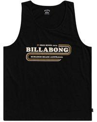 Billabong Wavy Sleeveless T-shirt - Black