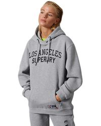 Superdry City College Oversized - Gray