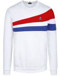 Le Coq Sportif Tri No1 Sweatshirt - White