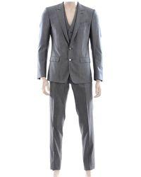 Dolce & Gabbana 2 Buttons - Gray