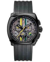 Luminox Tony Kanaan Steel Chronograph 1141 - Black