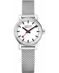 Mondaine Evo 2 Petite Watch - Metallic
