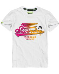 Superdry High Flyers Hyper Classics Lite - White