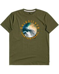 Quiksilver - Ocean Of Night Short Sleeve T-shirt - Lyst