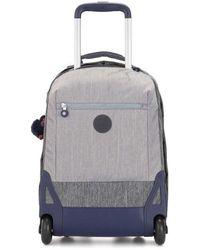 Kipling Soobin Light School Bag - Gray