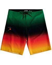 Billabong Fluid Airlite Swimming Shorts - Green