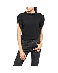 Replay W3314 Short Sleeve T-shirt - Black