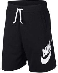 Nike Sportswear Alumni Shorts - Black