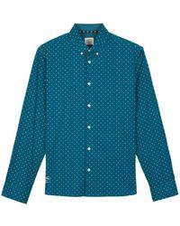 Oxbow Campa Long Sleeve Shirt - Blue