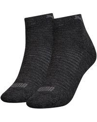 PUMA Quarter Socks 2 Pairs - Gray