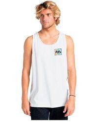 Billabong Heritage Sleeveless T-shirt - White