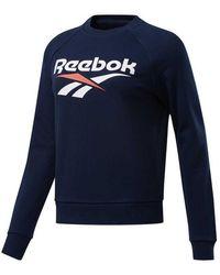 Reebok Vector Crew Sweatshirt - Blue